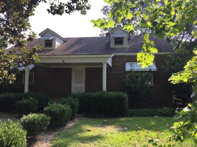 Selma Single Family Home For Sale: 1801 Co. Rd. 69