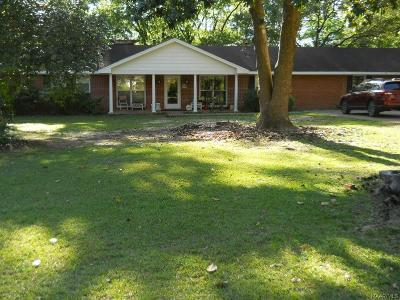 Wetumpka Single Family Home For Sale: 301 Old Jasmine Hill Road