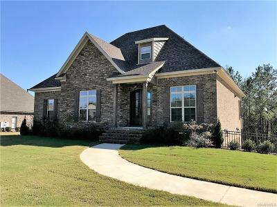 Wetumpka Single Family Home For Sale: 800 Brookwood Drive