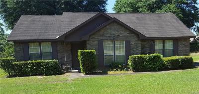 Prattville Single Family Home For Sale: 101 Live Oak Drive