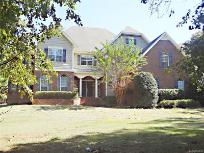 Wetumpka Single Family Home For Sale: 419 Waterfall Trail