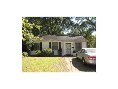 Montgomery Single Family Home For Sale: 3086 Texas Street