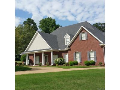 Wetumpka Single Family Home For Sale: 29 Mountain View Road