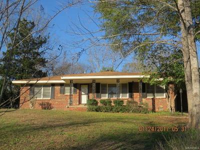 Prattville Single Family Home For Sale: 212 Rosemary Lane