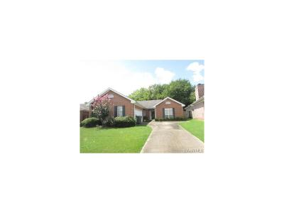Montgomery AL Single Family Home For Sale: $93,900