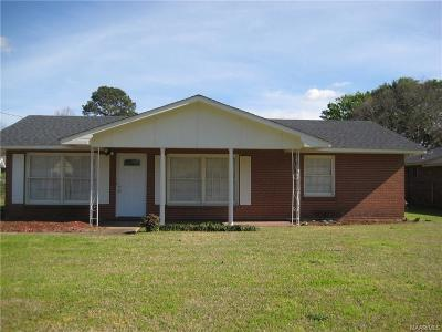Montgomery AL Single Family Home For Sale: $58,000