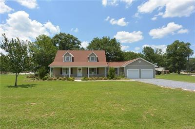 Wetumpka Single Family Home For Sale: 1275 Coosa River Parkway