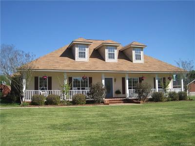 Wetumpka Single Family Home For Sale: 1070 Grier Road