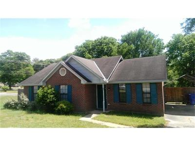 Prattville Single Family Home For Sale: 103 Newby Street
