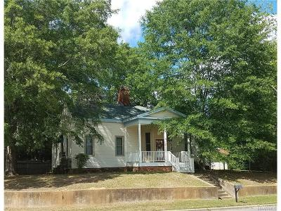 Wetumpka Single Family Home For Sale: 808 W Bridge Street