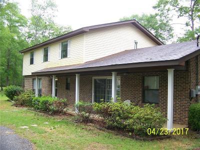 Millbrook Single Family Home For Sale: 3350 Pinewood Lane