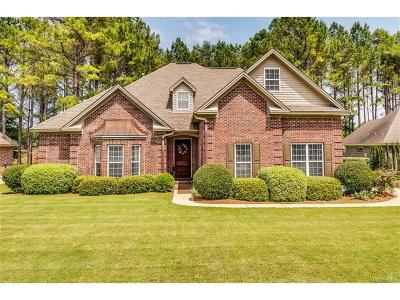 Wetumpka Single Family Home For Sale: 139 Dogwood Meadows