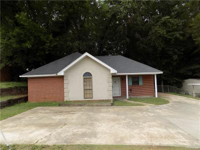 Prattville Single Family Home For Sale: 1215 E Main Street