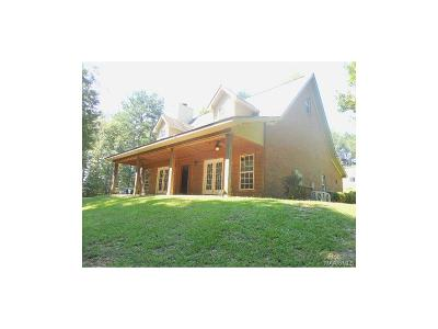 Wetumpka Single Family Home For Sale: 3442 Williams Road