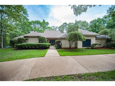 Wetumpka Single Family Home For Sale: 184 Fairliewood Drive