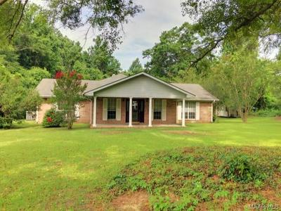 Rural Single Family Home For Sale: 2155 Weoka Road