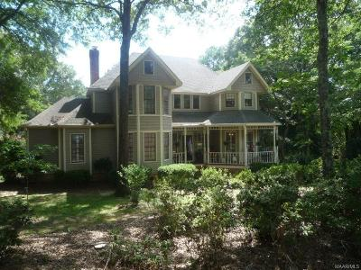 Wetumpka Single Family Home For Sale: 1864 Jasmine Hill Road