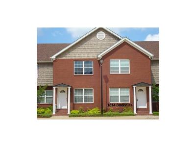 Prattville Condo/Townhouse For Sale: 1814 Station Drive