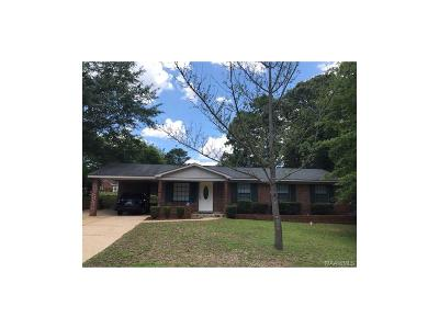 Montgomery AL Single Family Home For Sale: $89,000