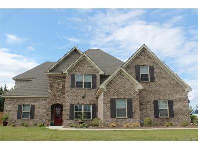 Wetumpka Single Family Home For Sale: 999 Brookwood Drive