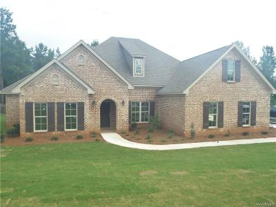 Wetumpka Single Family Home For Sale: 535 Southern Hills Drive