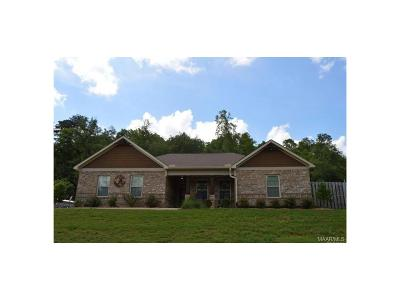 Wetumpka Single Family Home For Sale: 449 Woodhaven Lane