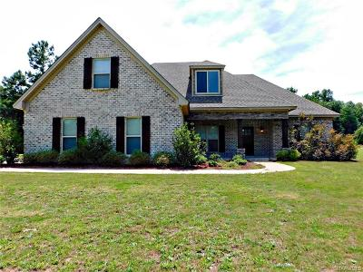 Wetumpka Single Family Home For Sale: 800 Southern Hills Drive