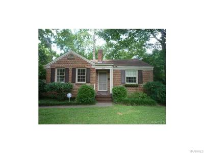 Montgomery Single Family Home For Sale: 3251 Gilmer Avenue