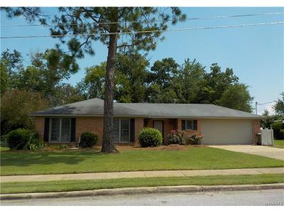 Montgomery AL Single Family Home For Sale: $122,500