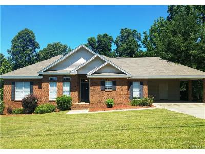 Single Family Home For Sale: 3536 Dozier Road