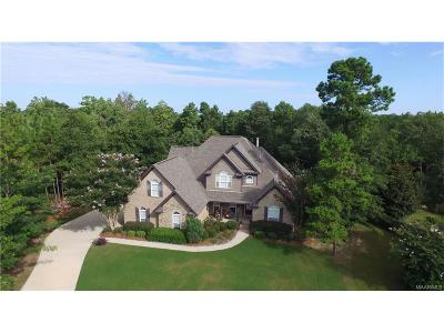 Wetumpka Single Family Home For Sale: 41 Brookland Court