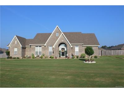Wetumpka Single Family Home For Sale: 42 Limestone Lane