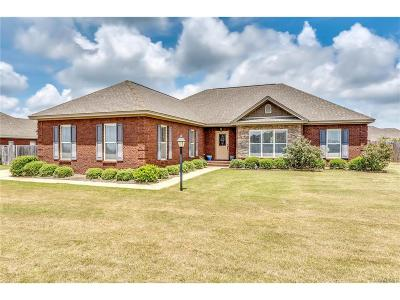 Wetumpka Single Family Home For Sale: 174 Stonegate Trail
