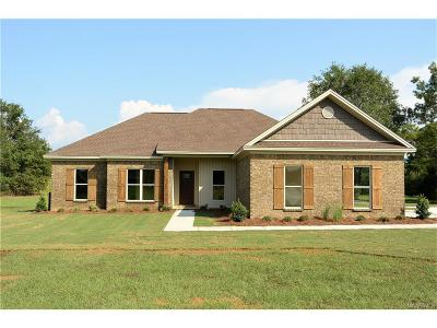 Wetumpka Single Family Home For Sale: 165 Atkin Hill Road