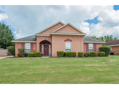 Montgomery AL Single Family Home For Sale: $133,000