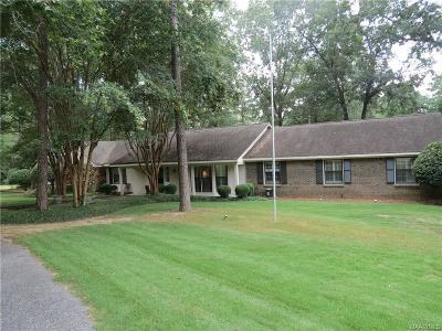 Wetumpka Single Family Home For Sale: 716 Westcott Drive