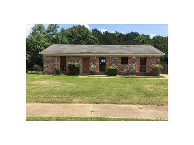 Montgomery AL Single Family Home For Sale: $54,700