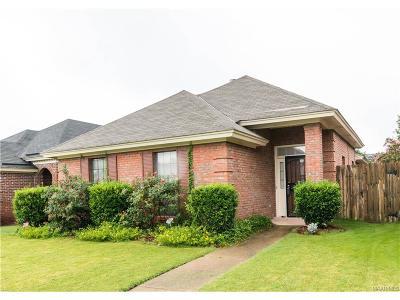 Montgomery AL Single Family Home For Sale: $118,600