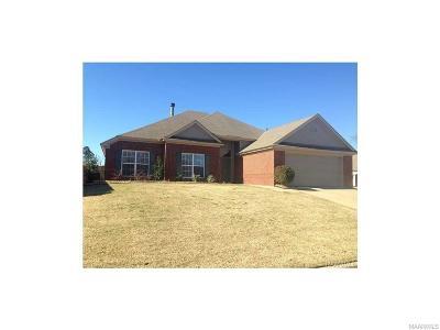 Montgomery AL Single Family Home For Sale: $224,300