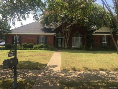 Montgomery Single Family Home For Sale: 7336 Greenfield Road
