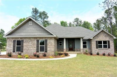 Wetumpka Single Family Home For Sale: 37 Muder Cove Court