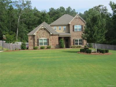 Wetumpka Single Family Home For Sale: 415 Sherwood Trail