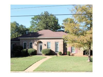 Prattville Single Family Home For Sale: 396 Kingston Garden Road