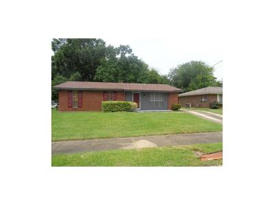 Montgomery Single Family Home For Sale: 3052 Renee Drive