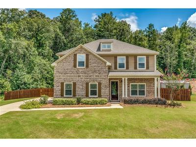 Wetumpka Single Family Home For Sale: 313 Sherwood Trail