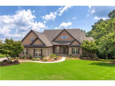 Wetumpka Single Family Home For Sale: 139 Brookstone Road