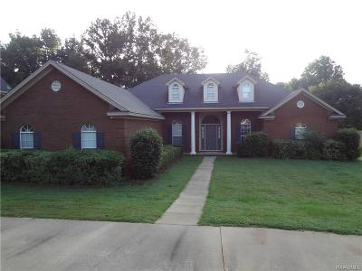 Wetumpka Single Family Home For Sale: 1360 Emerald Mountain Parkway