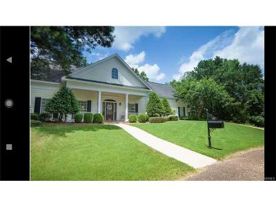 Wetumpka Single Family Home For Sale: 27 Willow Bend Drive