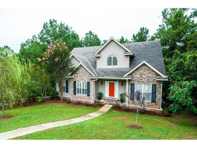 Wetumpka Single Family Home For Sale: 50 Long Needle Court