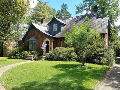 Montgomery AL Single Family Home For Sale: $244,000